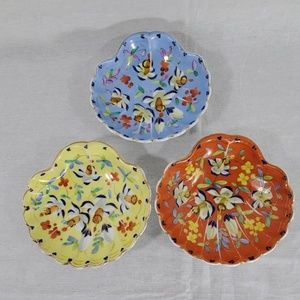 Anthropologie porcelain colorful candy dishes